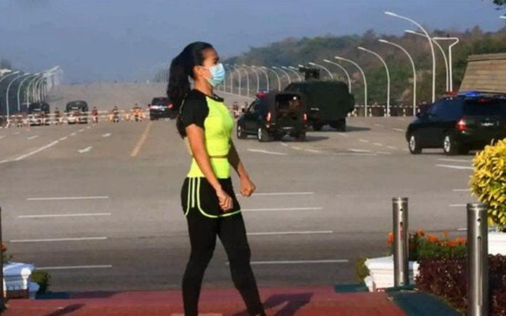 maestra aerobic birmania